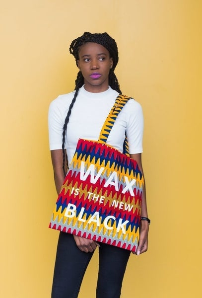 Image of Tote bag ZigZag - Wax Is The New Black 20% OFF
