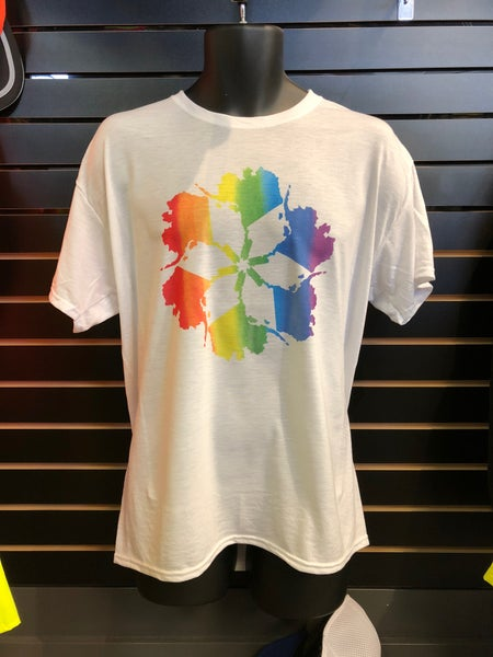 Image of AK Spiral Rainbow Tee
