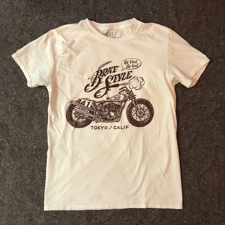 Image of INDIAN T-SHIRT FRONT WHITE