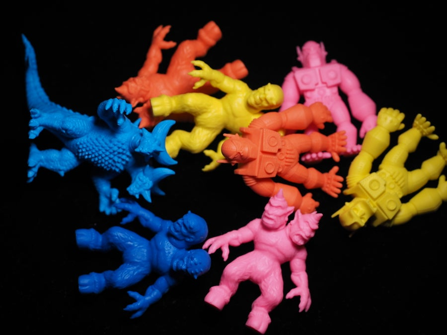 Image of Kaiju Keshi Series 1.0 (Pack of 10 Assorted Mini Figures)