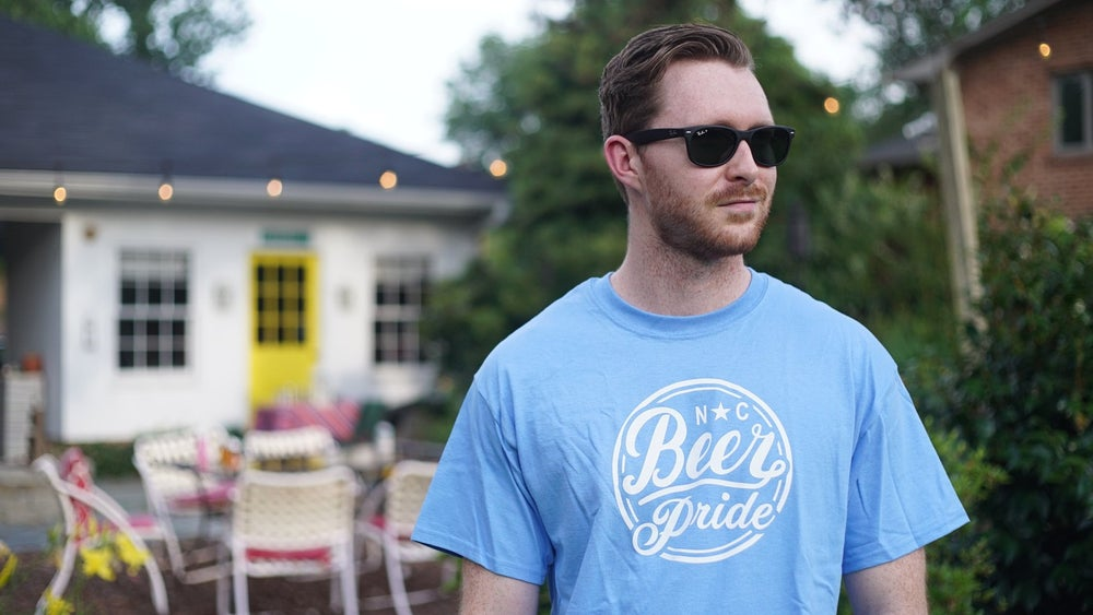 "Image of NC BEER PRIDE ""Gone to Carolina"" Classic Tee"