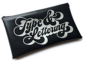 Image of T&L Large Leatherette Pencil Case