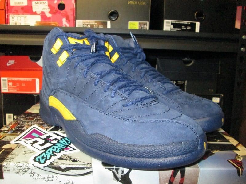 "Image of Air Jordan XII (12) Retro NRG ""Michigan"""