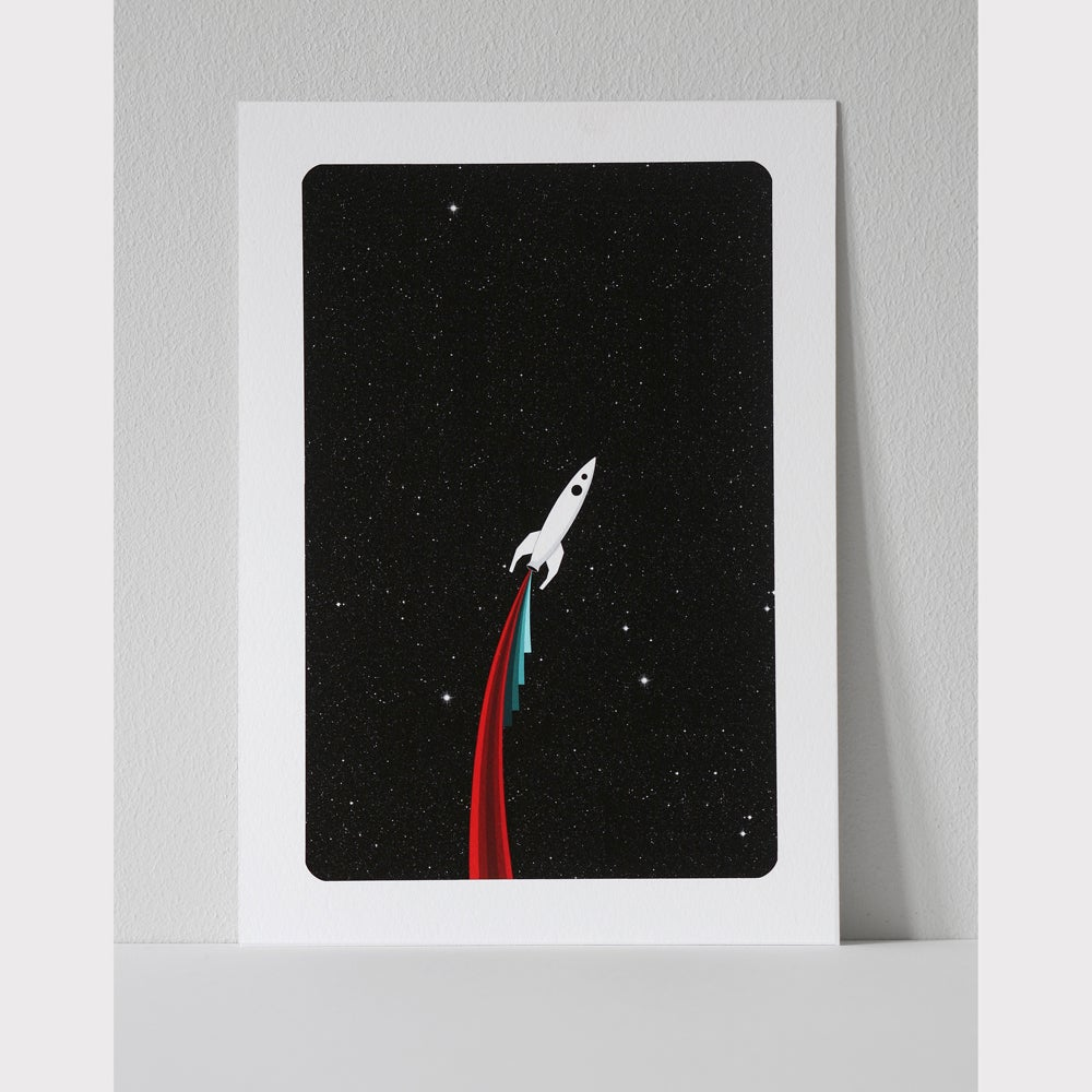 Image of Rocket B (A5 Print)