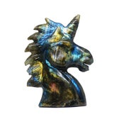 Image of Multicolor labradorite unicorn