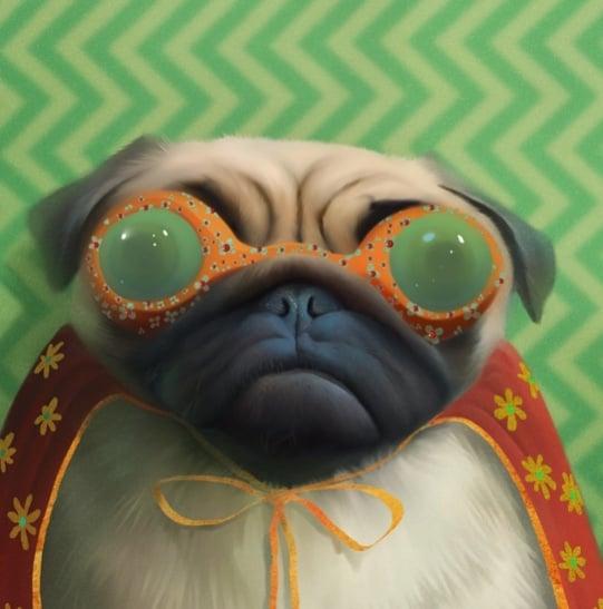 Image of Super Pug