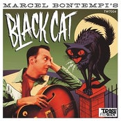 "Image of 7"" EP Marcel Bontempi : Black Cat EP.  Black Vinyl."