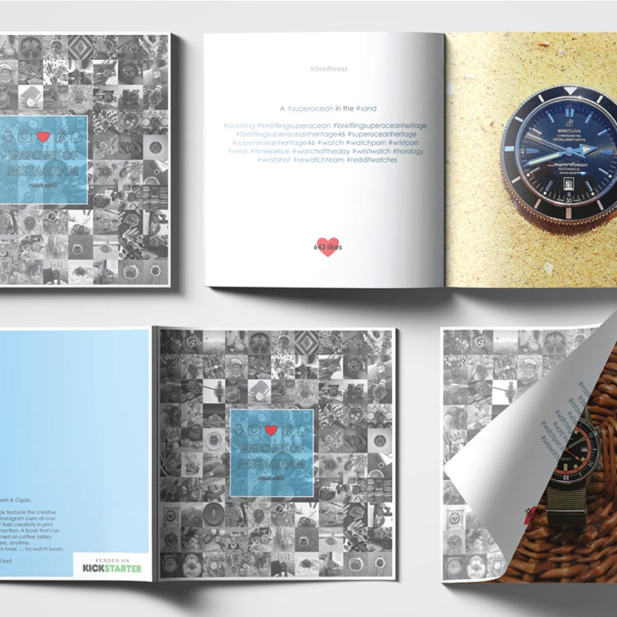 Image of Watches Of Instagram Book ONLY - Issue #002