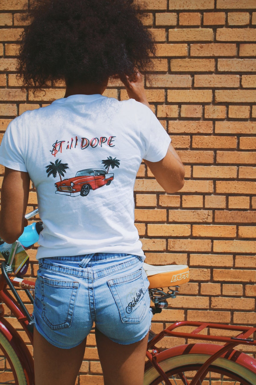Image of STILL DOPE LADY TEES