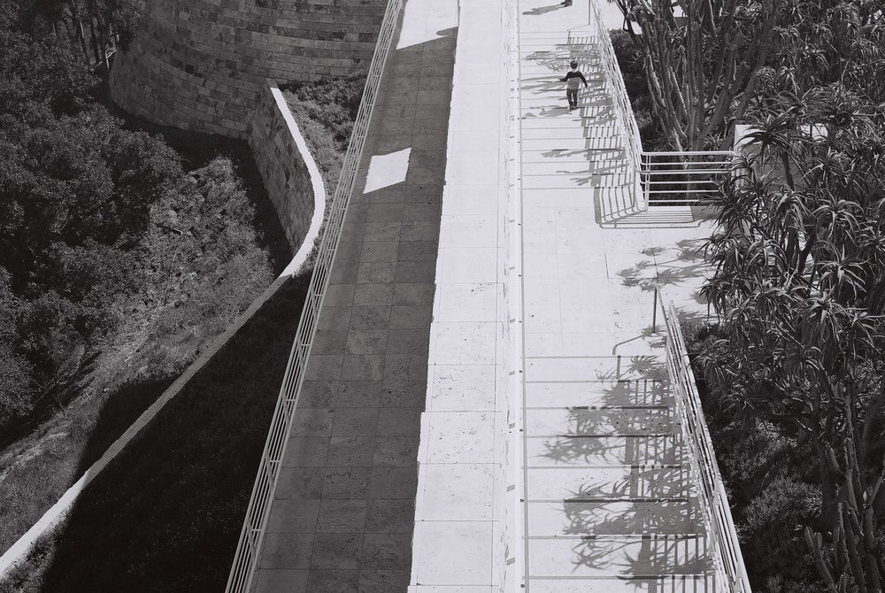 Image of Los Angeles (Getty Center) 35mm A4 Print - Shadow