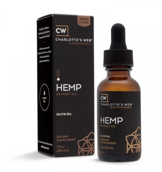 Image of Charlotte's Web - Hemp Extract Organic Olive Oil - 1 FL OZ (30 ML)