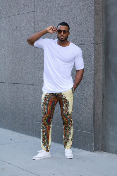 Image of The Dada joggers - color fest cream
