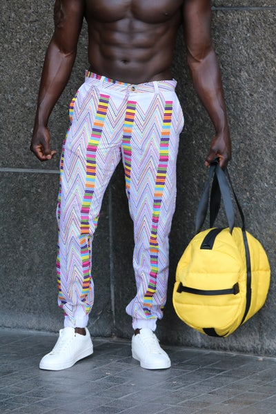 Image of The Dada Joggers- color wave