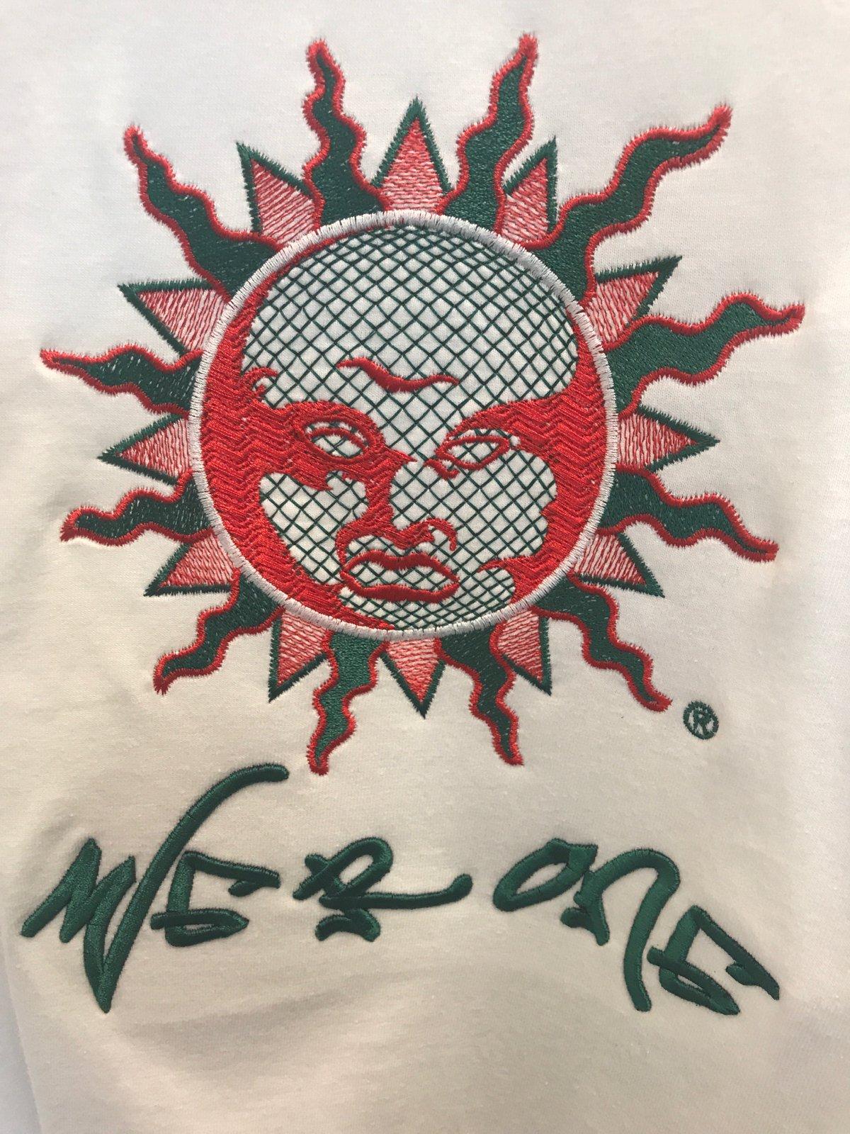 Image of Big Sun Logo Embroider SST (black/red/green)