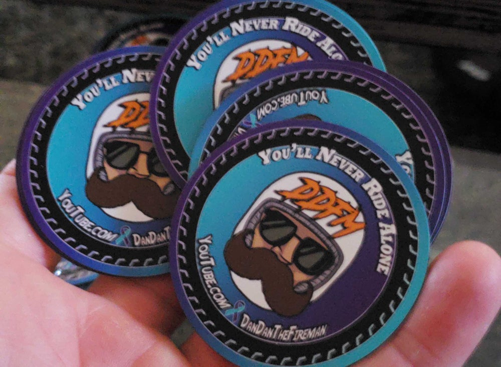 Image of Never Ride Alone Magnets