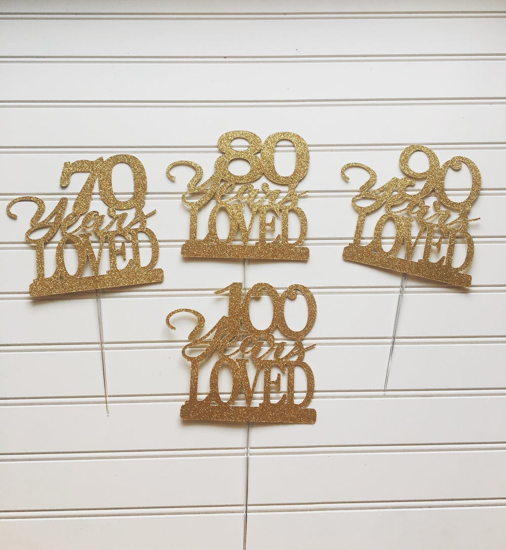 Image of Milestone Cake Toppers