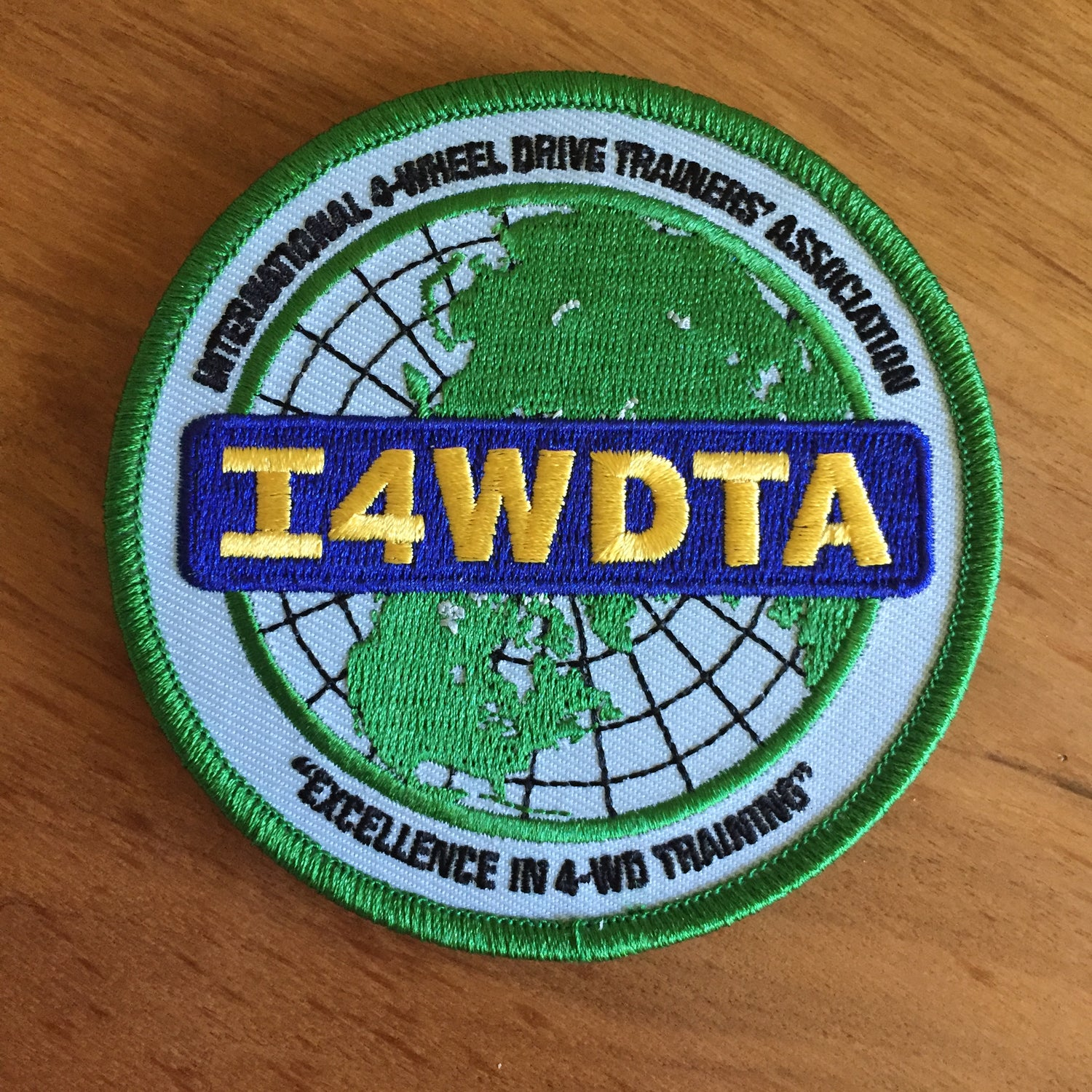 Image of I4WDTA Embroidered Patch