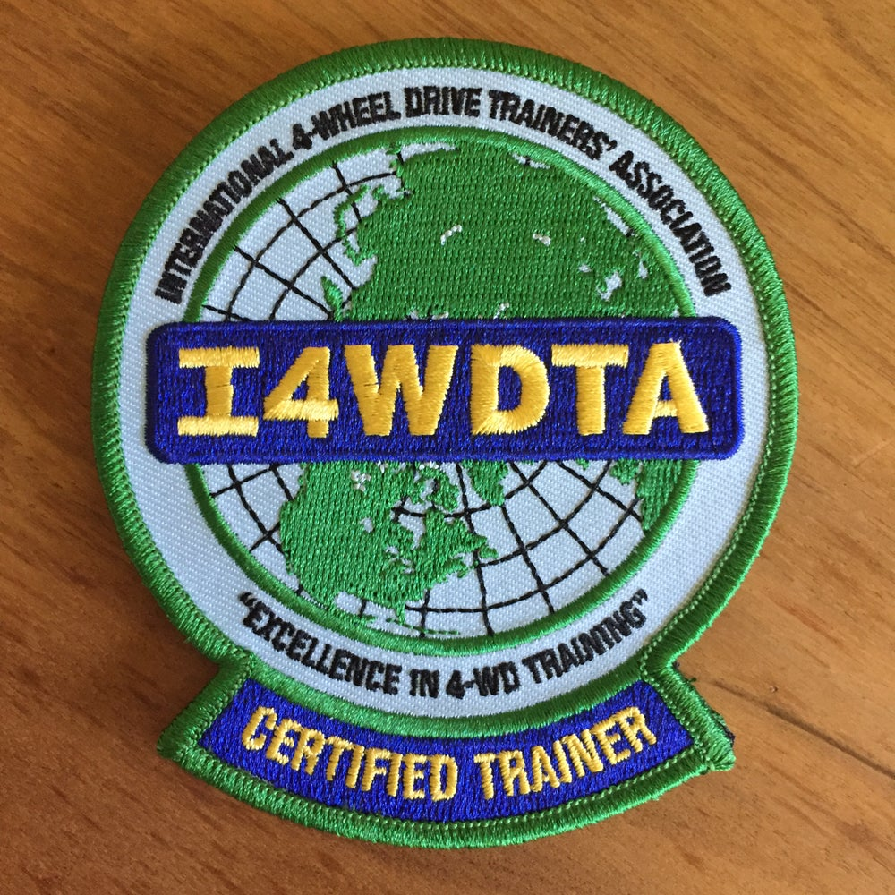 Image of I4WDTA  CERTIFIED TRAINER Embroidered Patch