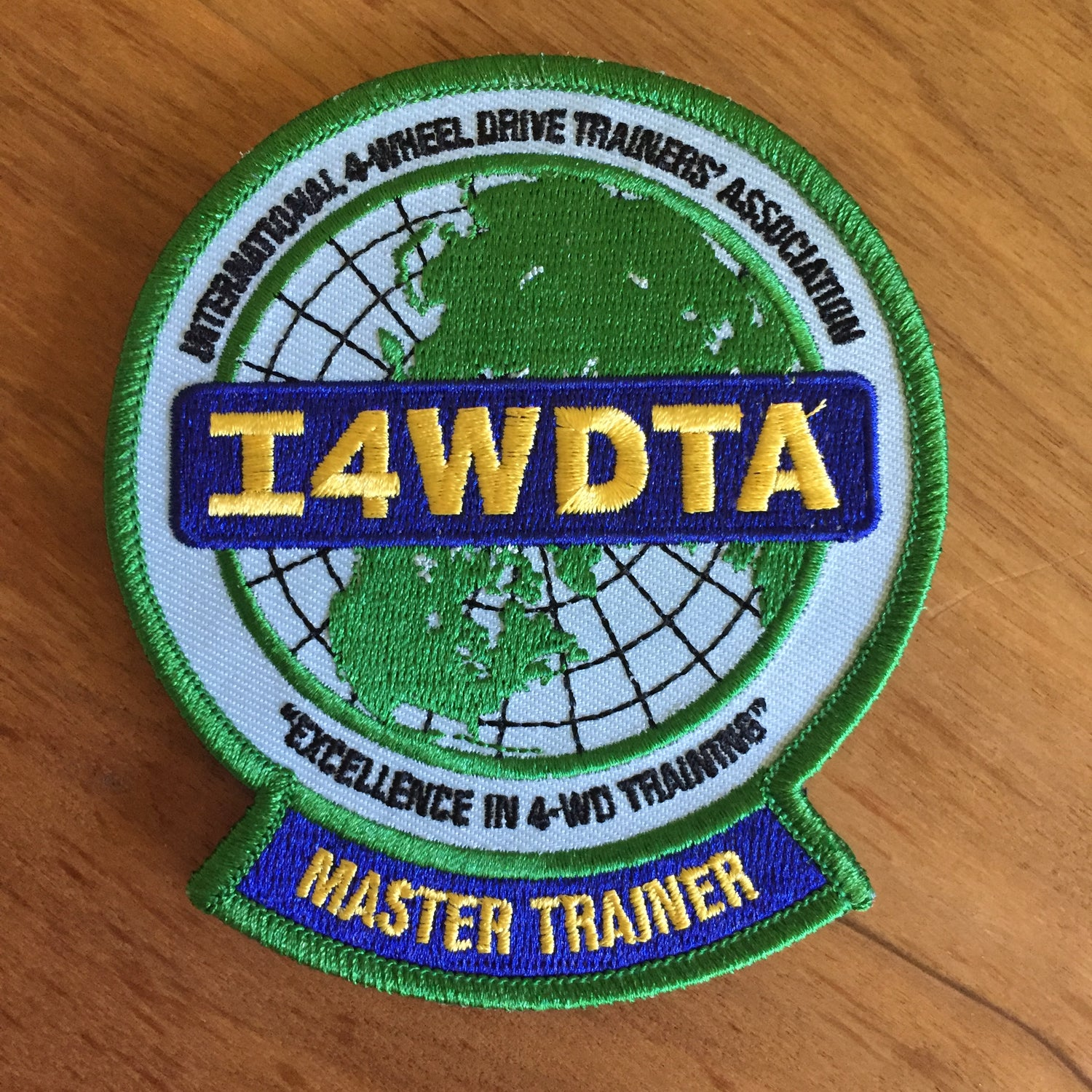 Image of I4WDTA MASTER TRAINER Embroidered Patch