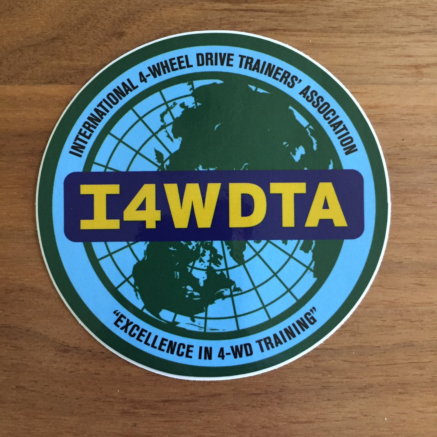 Image of I4WDTA Vinyl Decal