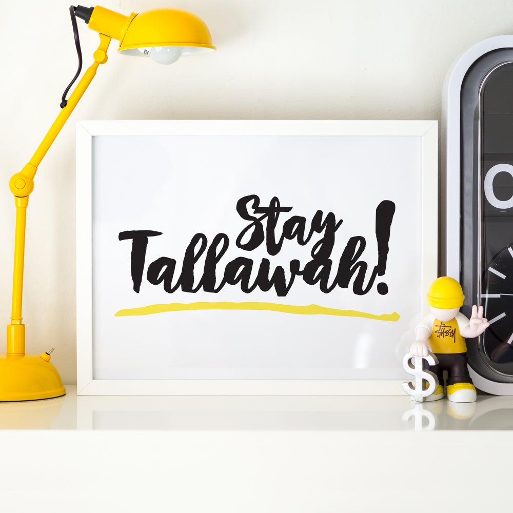 "Image of ""Stay Tallawah"" Digital Poster"