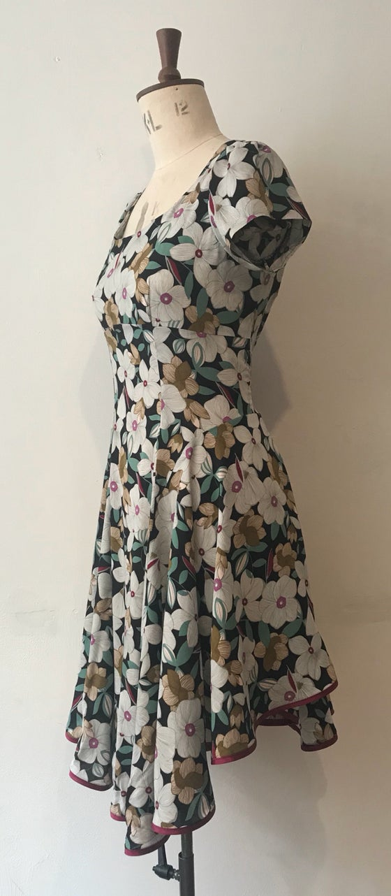 Image of Floral swirl dress