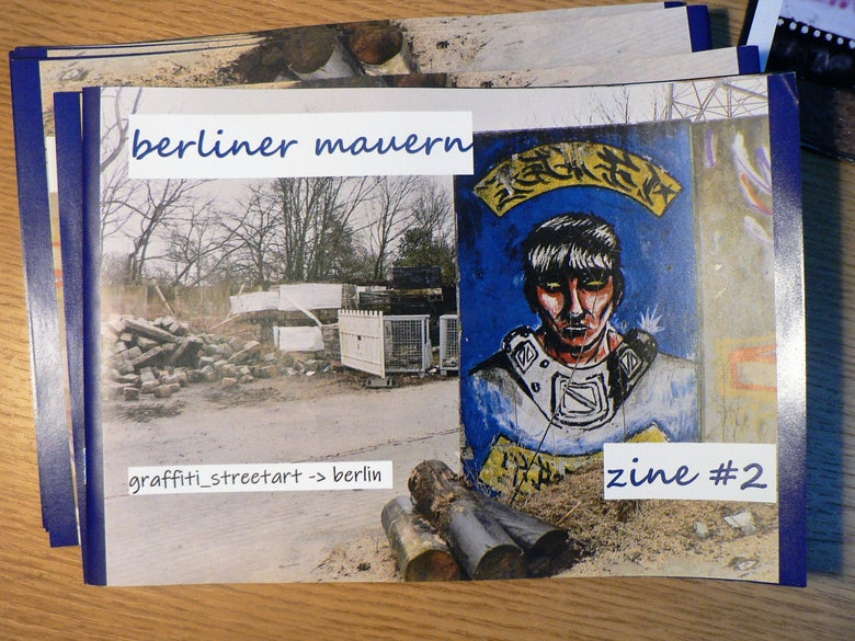 Image of Berliner Mauern Zine #02