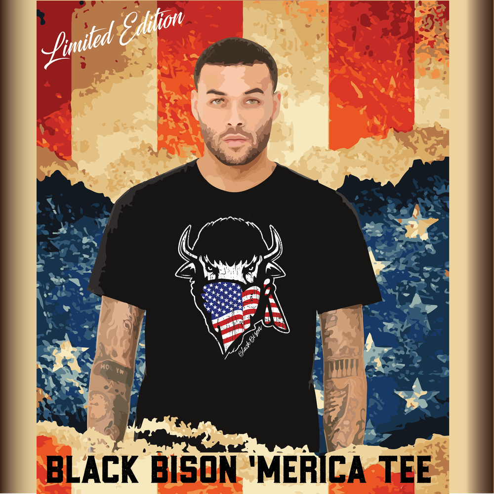 Image of Limited Edition Bison 'Merica Tee