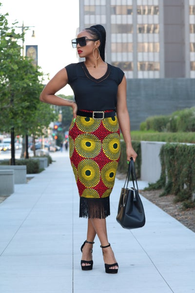 Image of THE NINA PENCIL SKIRT