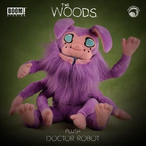 Image of The Woods: Limited Edition Doctor Robot plush — PRE-ORDER!