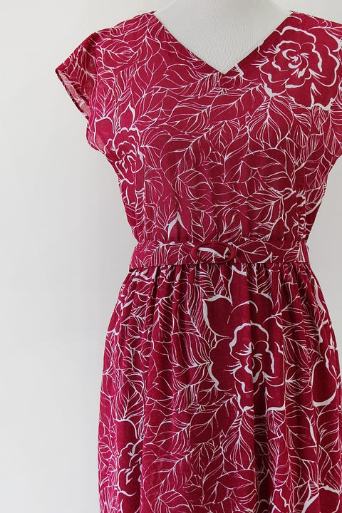 Image of SOLD Roses In Bloom Dress