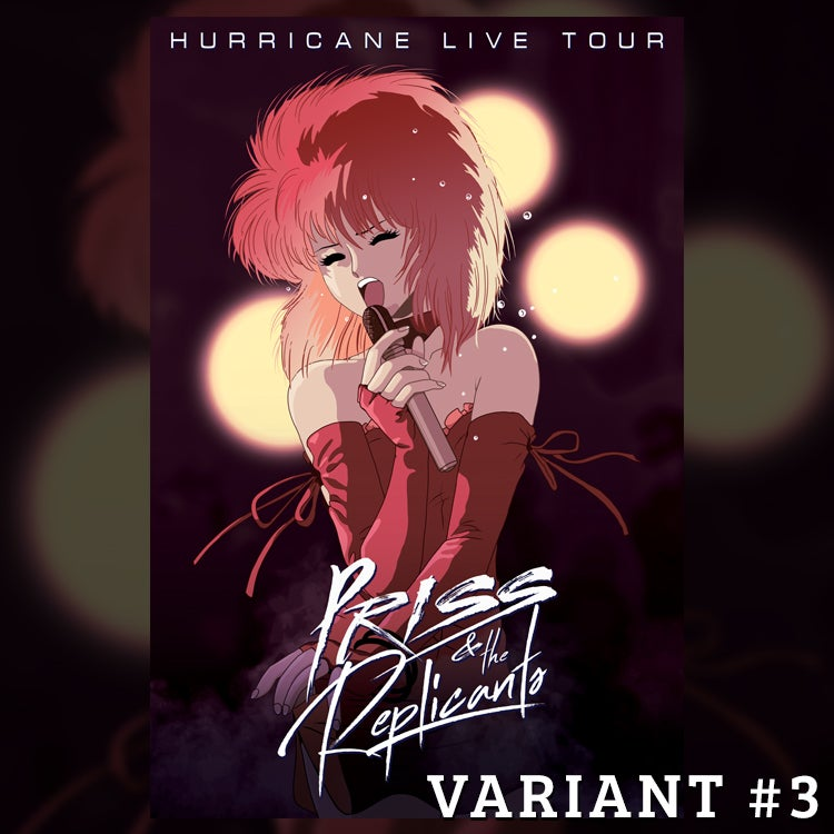 Image of Priss & the Replicants Tour Poster - Variant #3