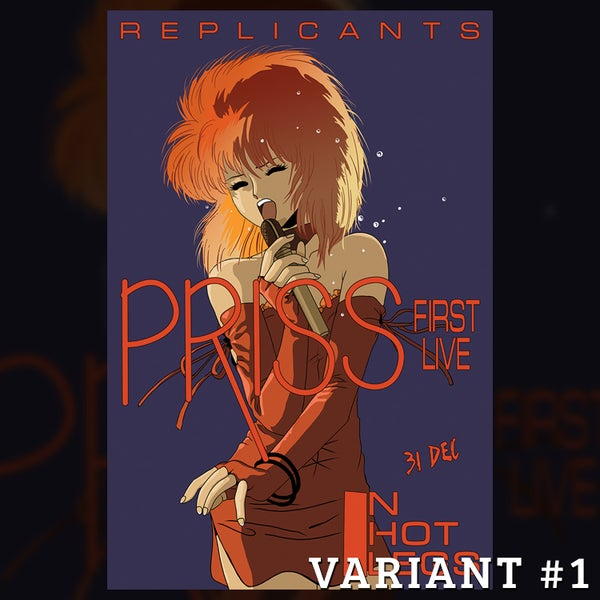Image of Priss & the Replicants Tour Poster - Variant #1