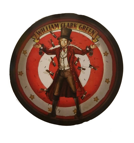Image of Circus Round sticker