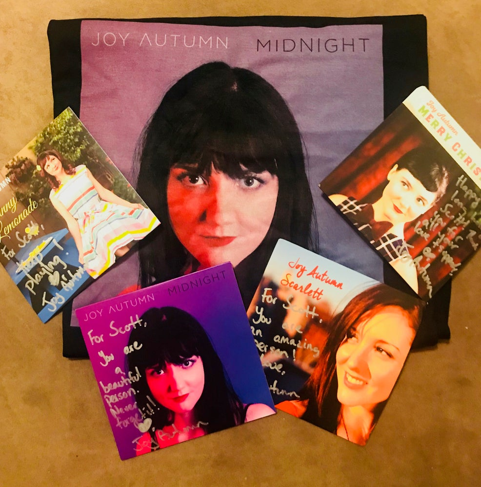 Image of Midnight T-Shirt + Cd's - The WHOLE JOY Package!