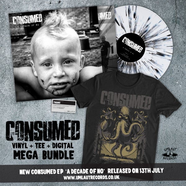 Image of Consumed - A DECADE OF NO EP BUNDLE