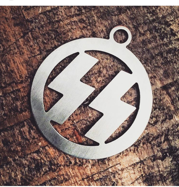 Image of Bolts key chain/medallion ...