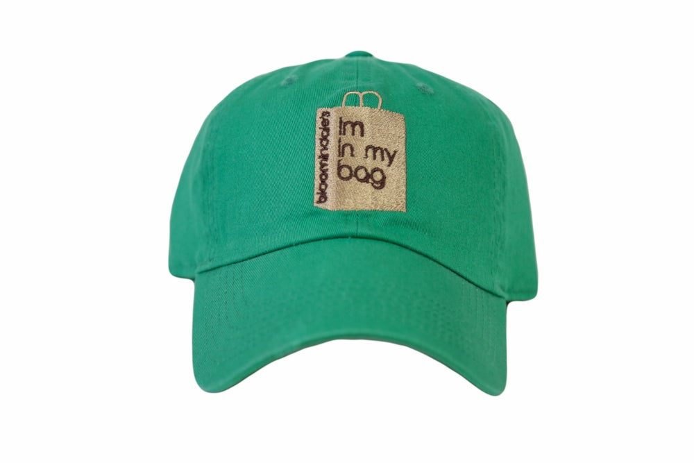 Image of Green Im In My Bag Dad Hat