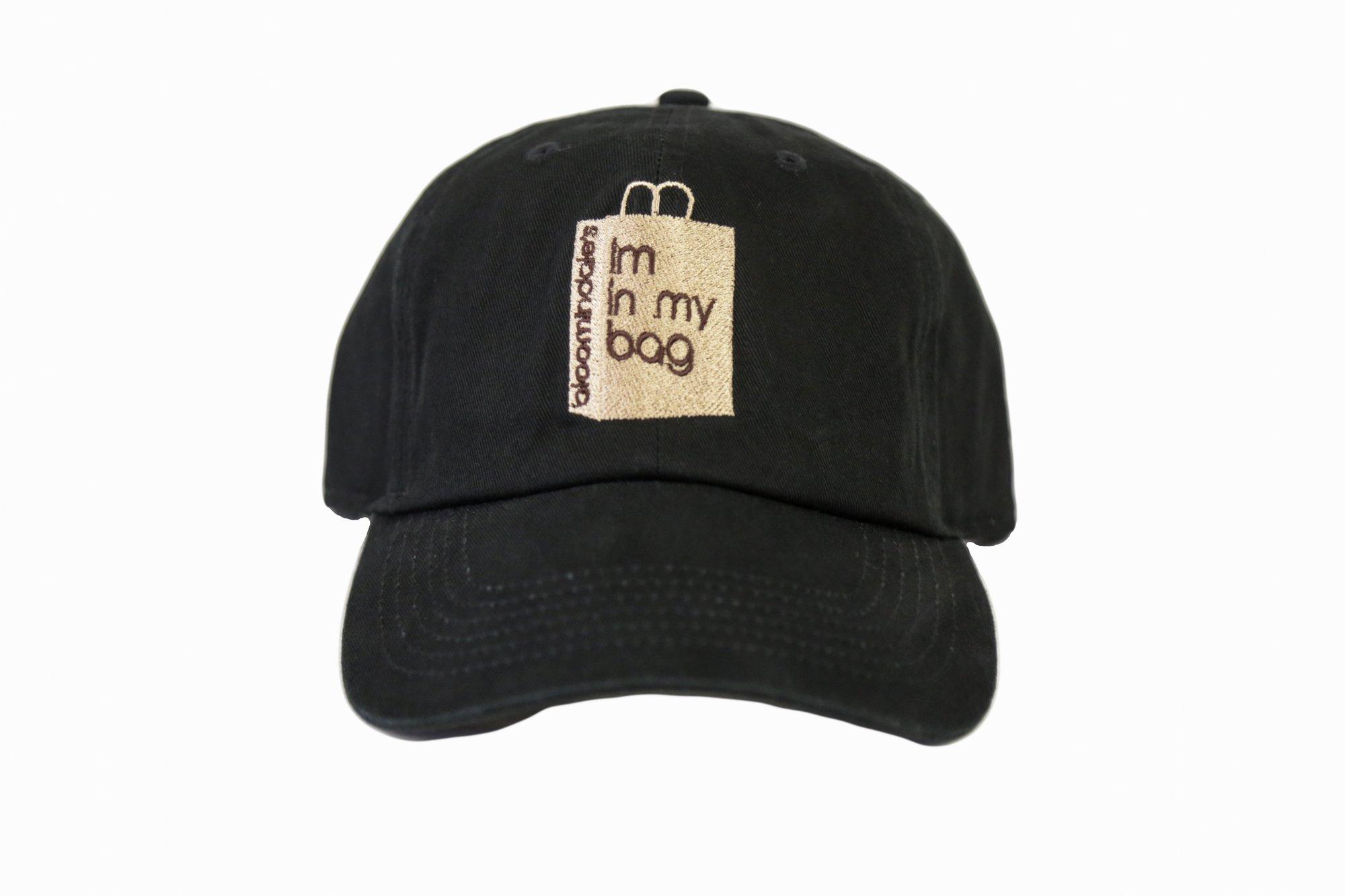 Image of Black Im In My Bag Dad Hat 04ed206ead8