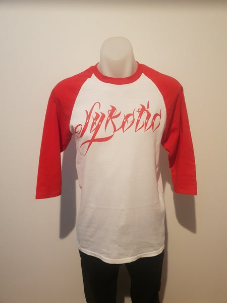 Image of OG 3/4 Sleeve Raglan (Red)