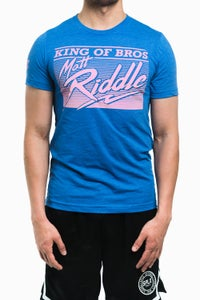 Image of Matt Riddle 'KING OF BROS' T-Shirt