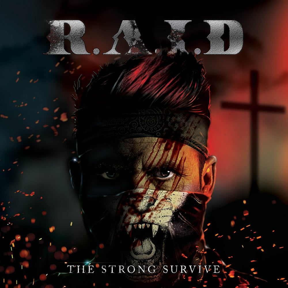 Image of R.A.I.D - THE STRONG SURVIVE CD