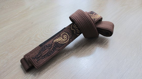 Image of KRAKKEN クラクケン Brown belt