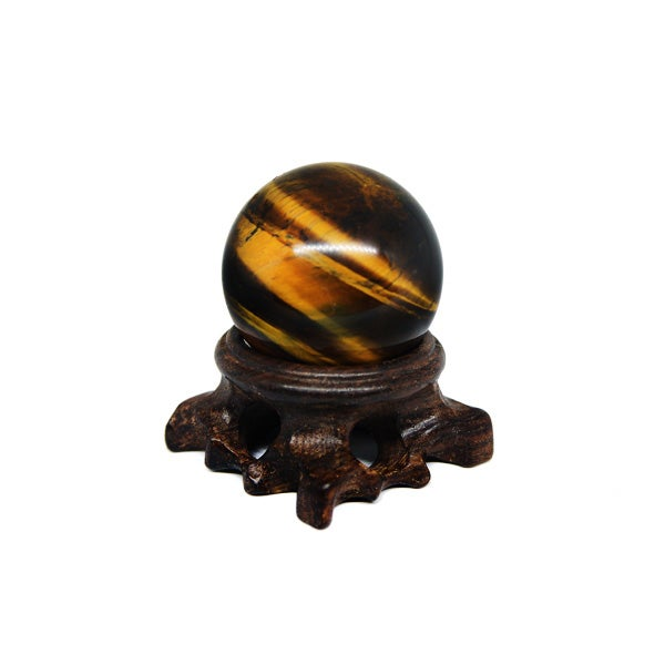 Image of Tiger's eye sphere