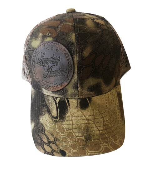 Image of Legendary American Hex Camo Trucker