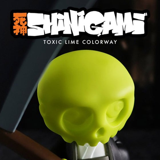 Image of Shinigami - Toxic Lime Colourway