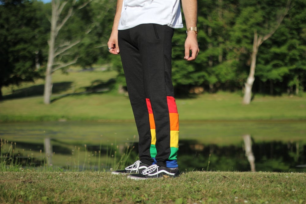 Image of Black Pride Pants