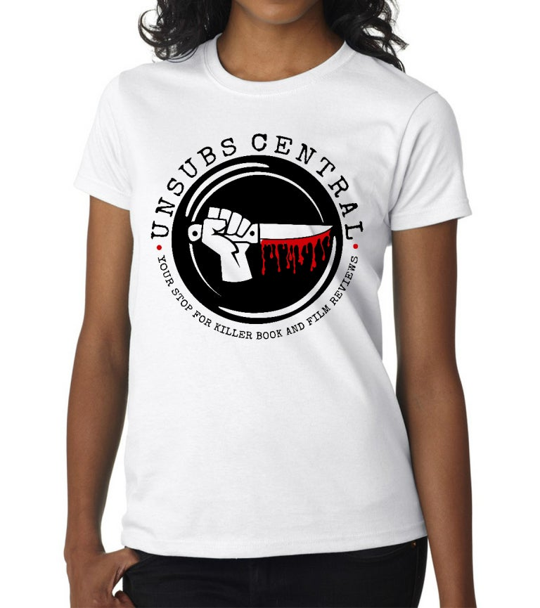 Image of Unsubs Central Bloody Knife Logo shirt - Women's
