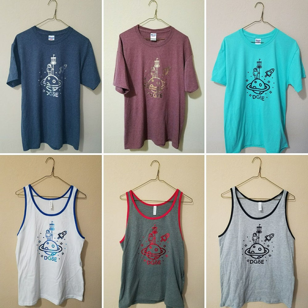 Image of Moon Man Tees/Tanks