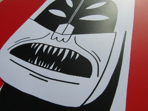 Image of NIGHTMARE BATMAN A2 Screen Print